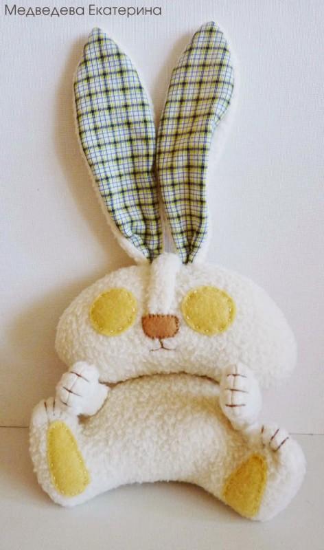 Мягкая игрушка заяц 32