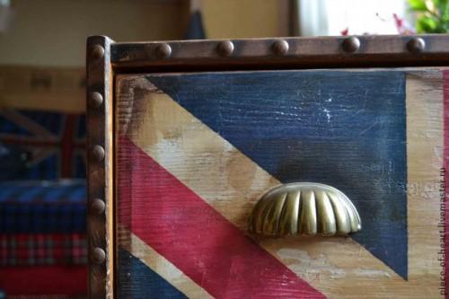 Покраска мебели - декор комода из ИКЕИ 9