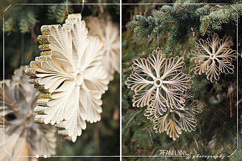 Новогодние снежинки из бумаги