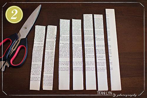 Готовые бумажные полоски
