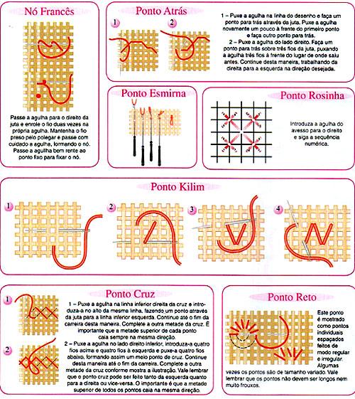 Как вышивать по ковровой технологии