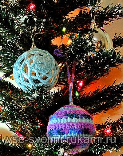 Красивые шары для новогодней елки