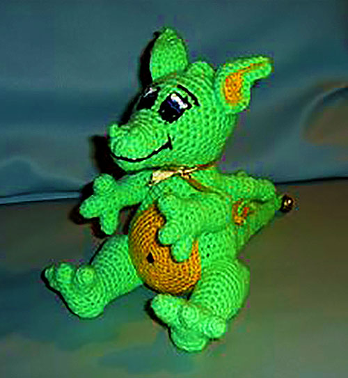 Конечно, этот дракончик - плод