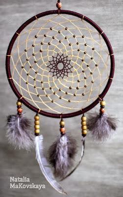 Мастер класс по плетению ловца снов от Наталии Маковской