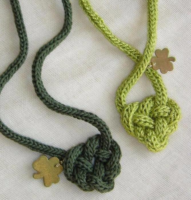 Кельтский узел схема плетение
