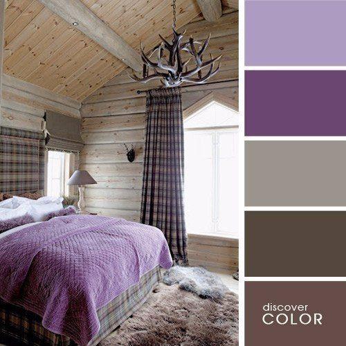 Палитра сочетания цветов в интерьере спальни