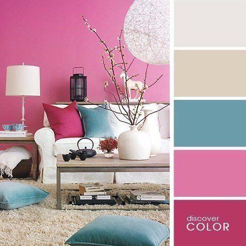 Палитра сочетания цветов в интерьере гостиной