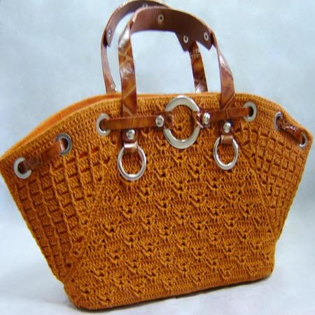 Идеи вязания сумок спицами и крючком